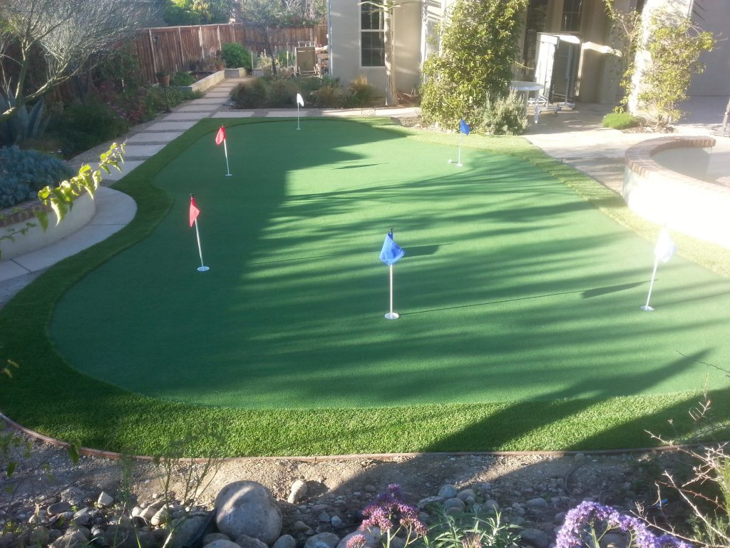 Synthetic Turf Putting Greens For Backyards San Diego, Best Artificial Lawn Golf Green Prices