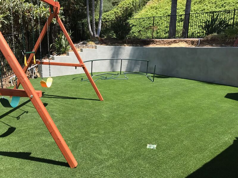 Artificial Lawn Playground Installation in San Diego, Artificial Turf Playground Maintenance