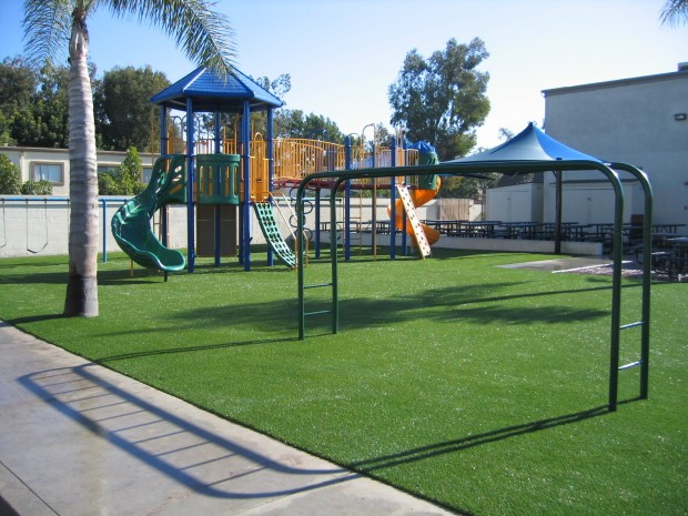 Synthetic Turf Playground Installation Coronado, Artificial Grass Playground Company