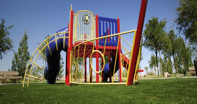 Artificial Grass Playground Installation San Diego, Synthetic Turf Playground Company