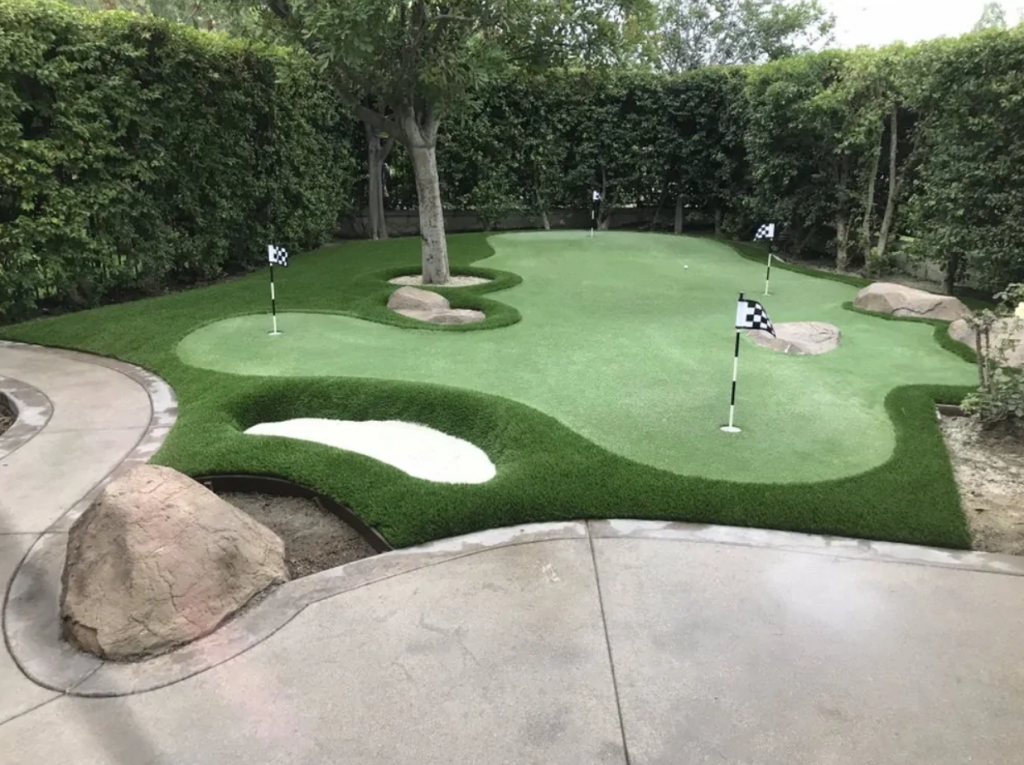 Putting Green In San Diego CA